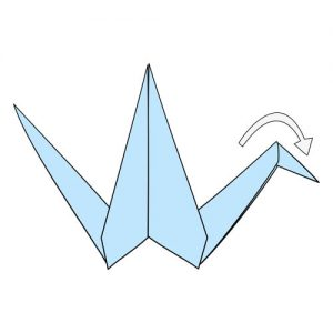 Step by Step tutorial for origami cranes