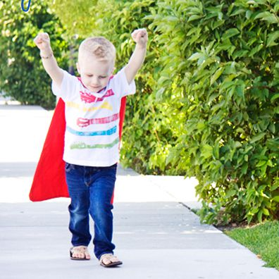 Easy Superhero Cape