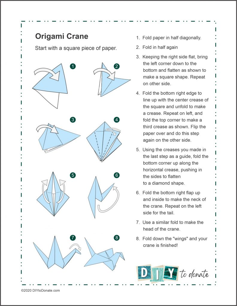 pdf crane printable