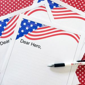 Writing and Sending Letters to the military