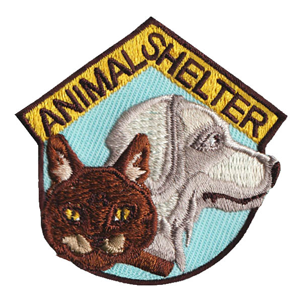 animal shelter patch