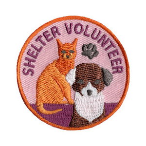 shelter volunteer patch