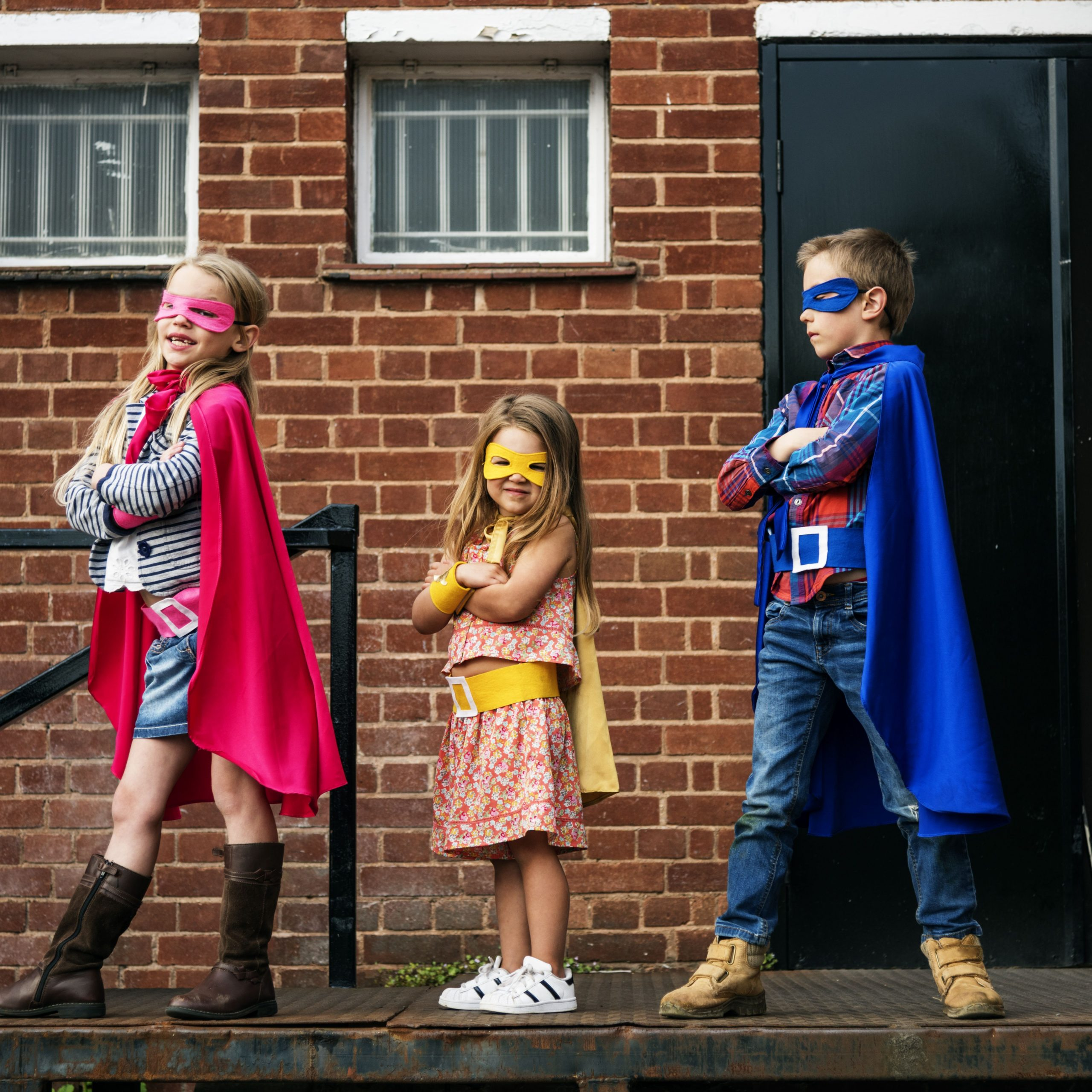 Make Superhero Capes to Donate