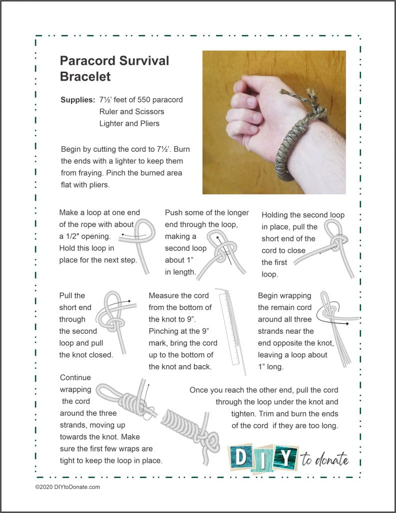 Make Paracord Bracelets for Our Troops
