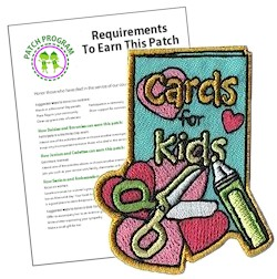 cards for kids Patch Program