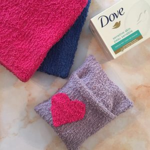 Make Soap Saver Pouch to Donate to Shelters