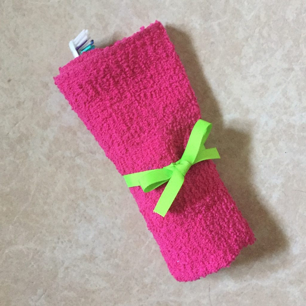 washcloth kit