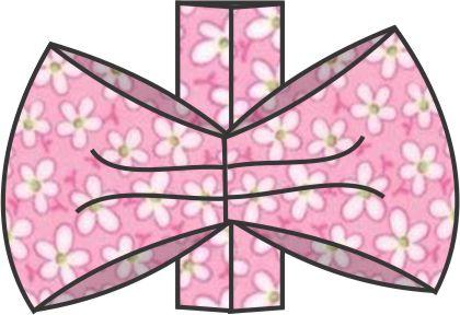 no-sew bow step 7