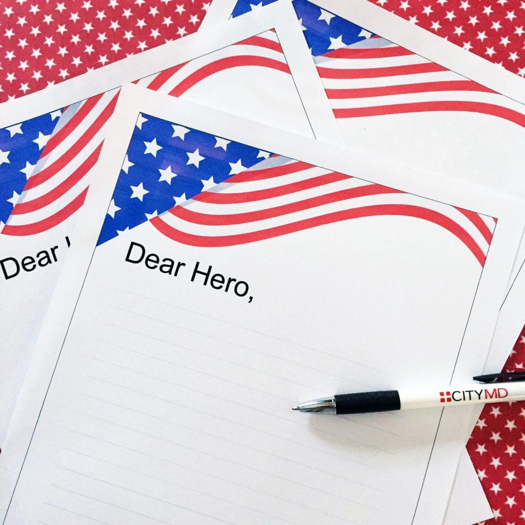 Dear Hero Printable