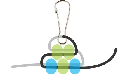 Beaded Gecko Step 3