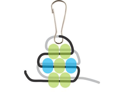Beaded Gecko Step 4