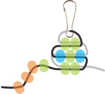 Beaded Gecko Step 5