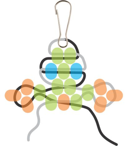 Beaded Gecko Step 8