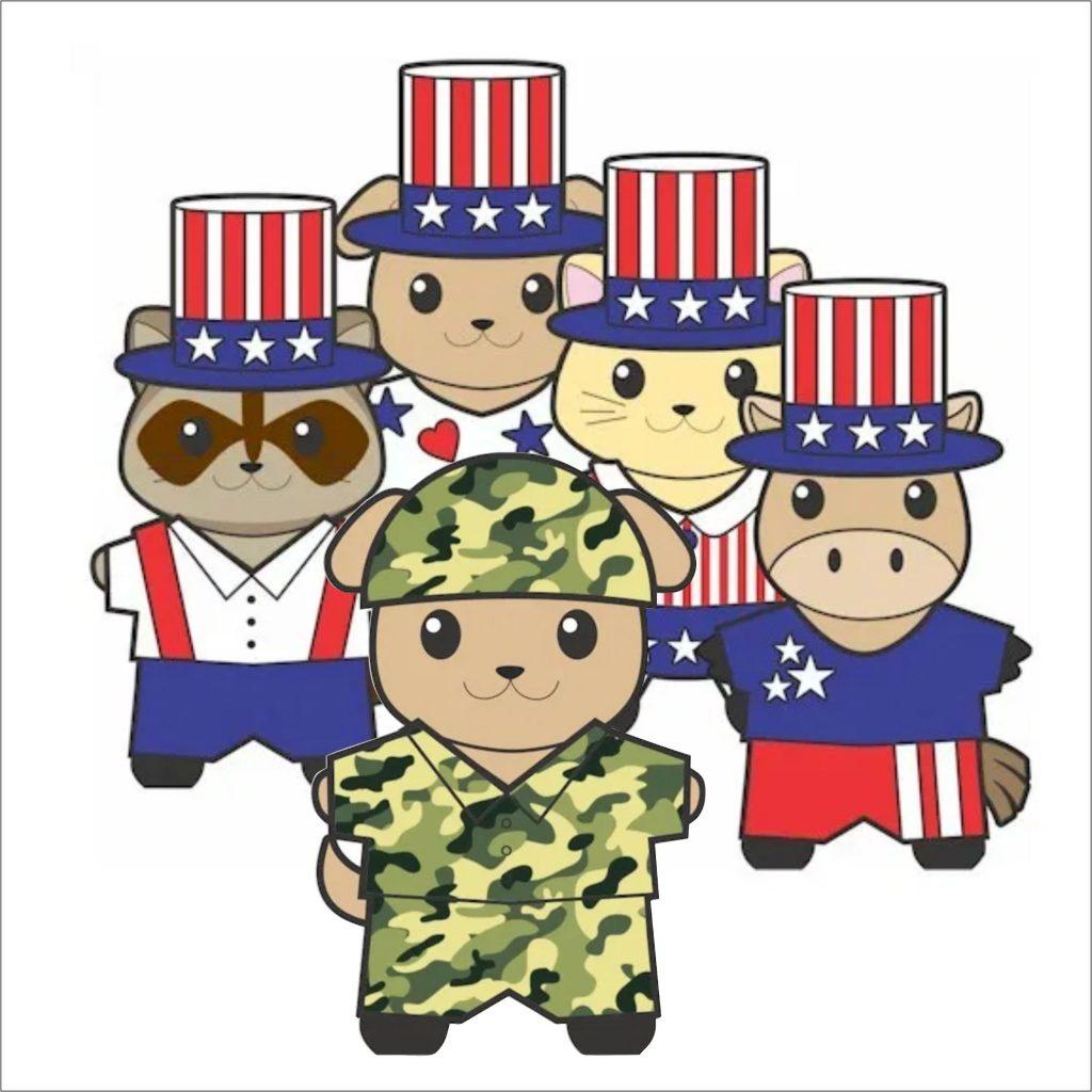 Make Patriotic Paper Dolls