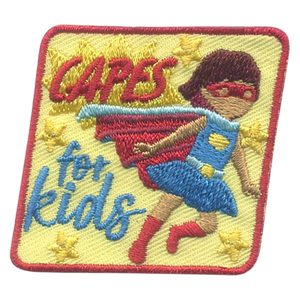 Girl Scout Capes for Kids Patch