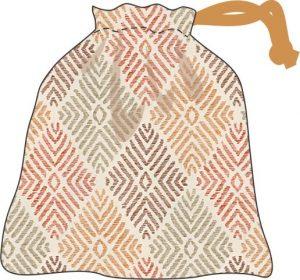 drawstring bag step 6