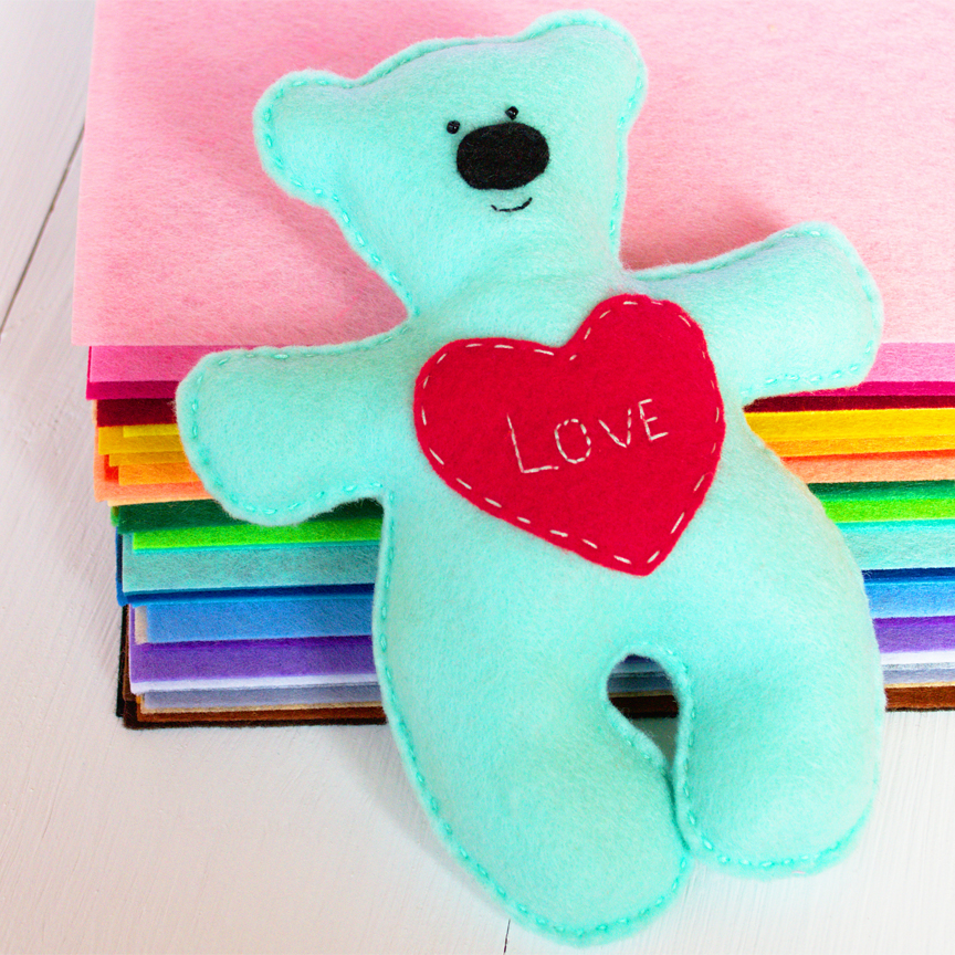 Easy Teddy Bears to Make and Donate