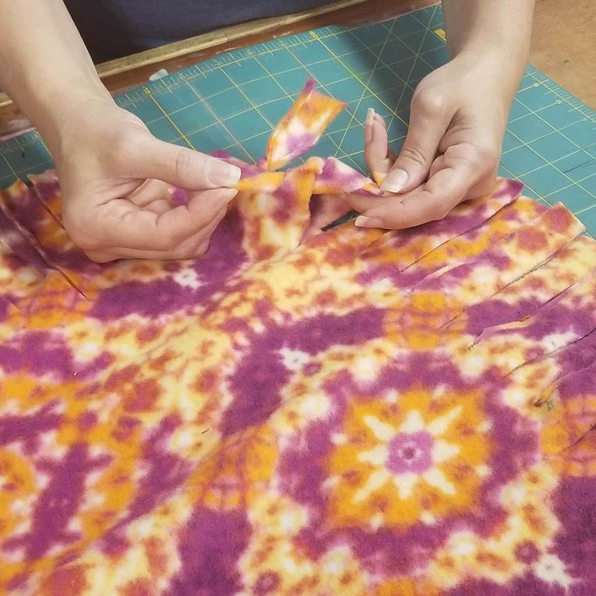 Easy Fleece Tie Blankets