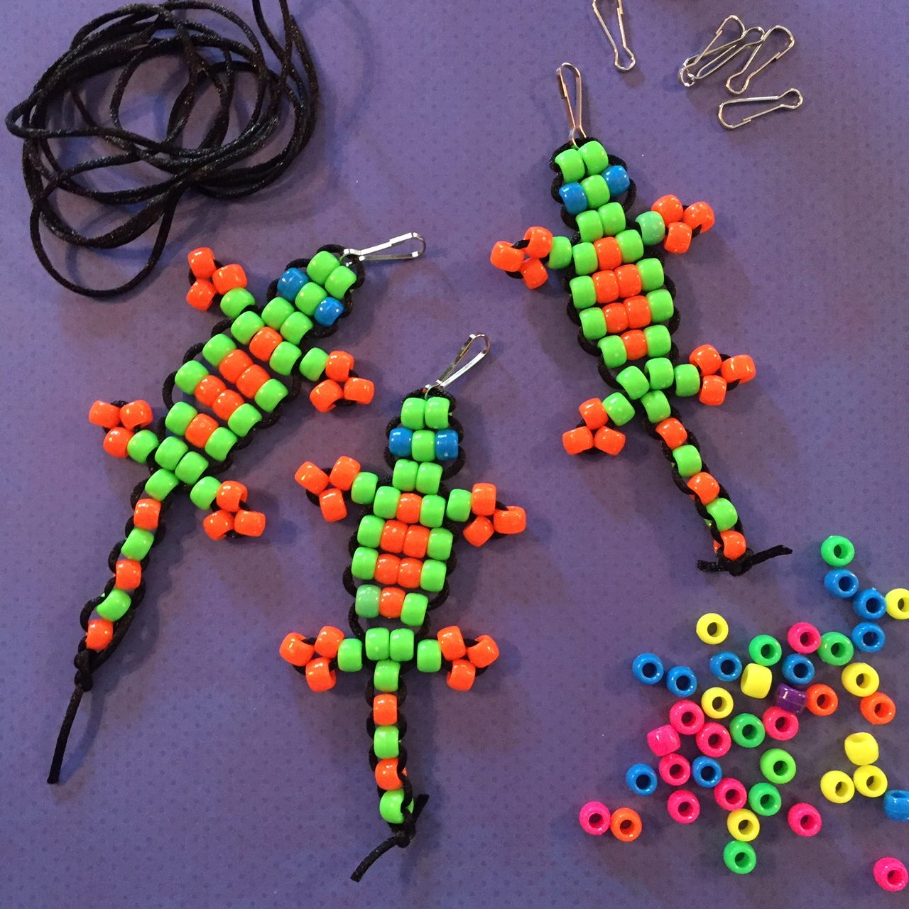 Make Beaded Gecko to Donate