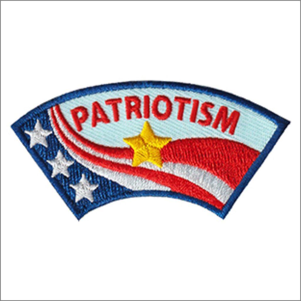 patriotism patch