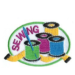 Girl Scout Sewing Patch
