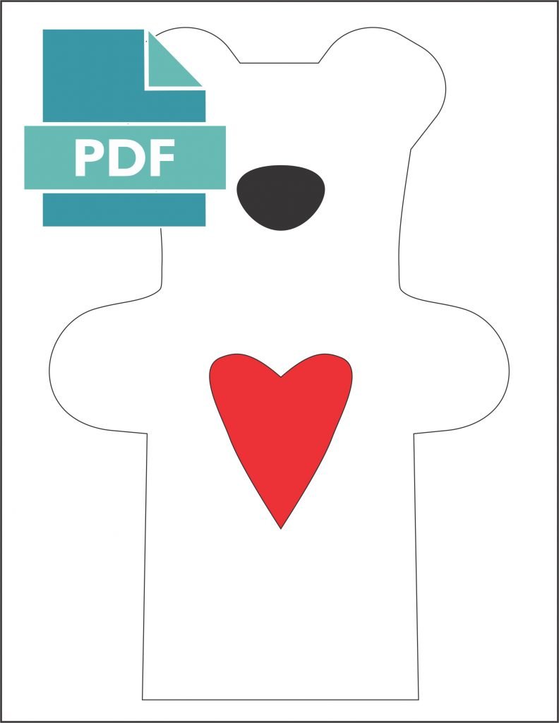 pdf file for teddy bear