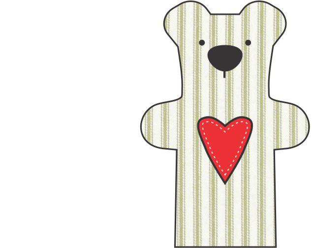 DIY Teddy Bear Step 3