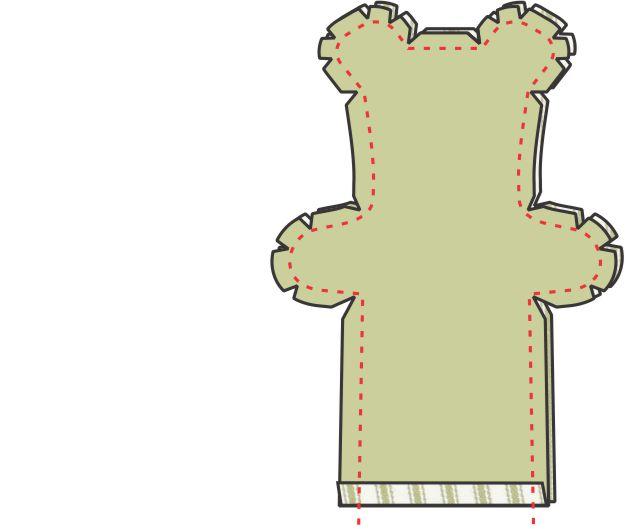 DIY Teddy Bear Step 6
