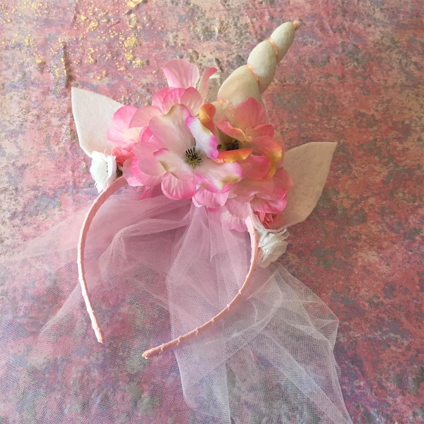 Make and donate unicorn headbands