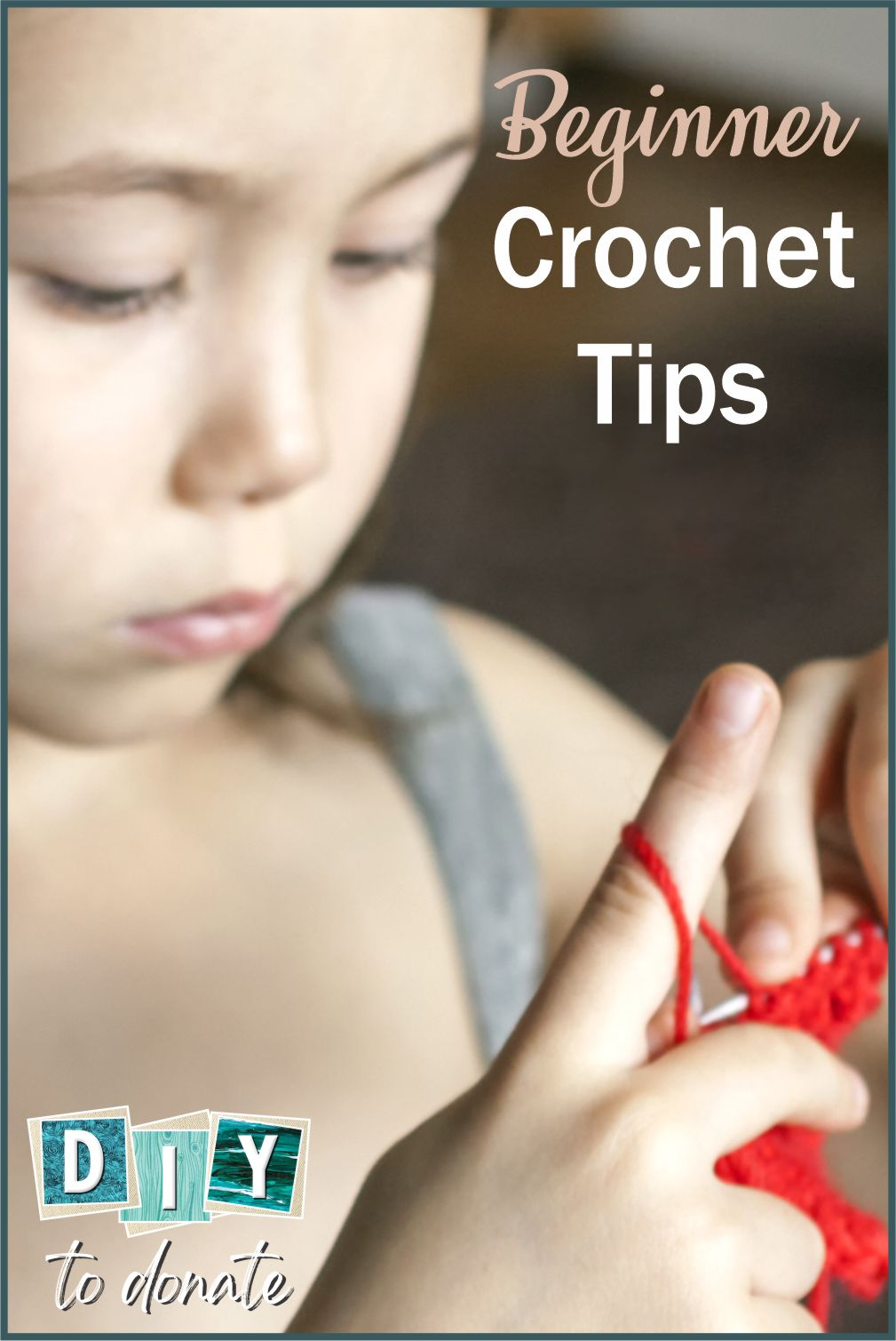 These crochet tips will help you enjoy your new craft and all the wonderful things you can learn to make and donate #diytodonate #diy #crocheting #craft #donate #donating #crafting #crochet #giveback