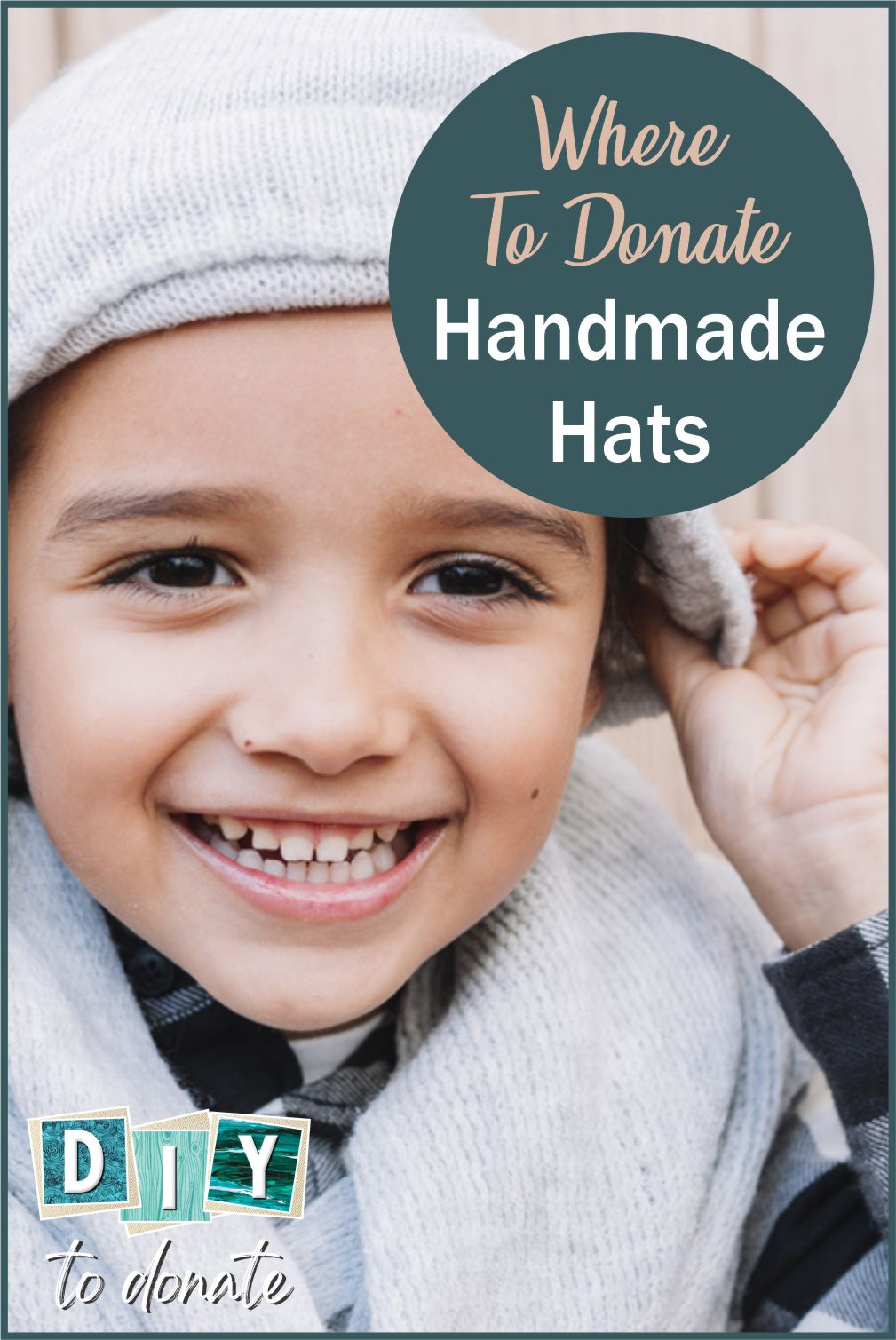 Your hat donations are welcomed by many organizations. We've rounded up the best ones to make it easy for you to choose. #diytodonate #diy #diyhats #donatehats #community #communityservice #giveback #girlscoutservice #boyscoutservice #girlscouts #boyscouts