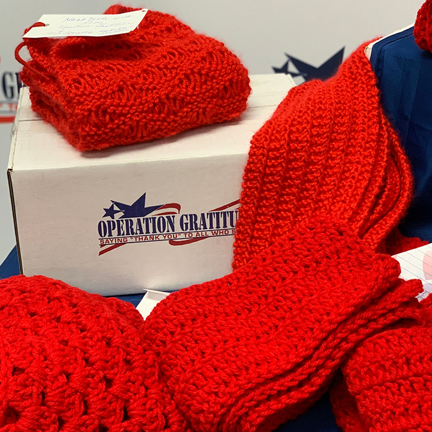 Make and donate scarves Easy Crochet Pattern