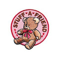 Girl Scout Build a Bear Patch