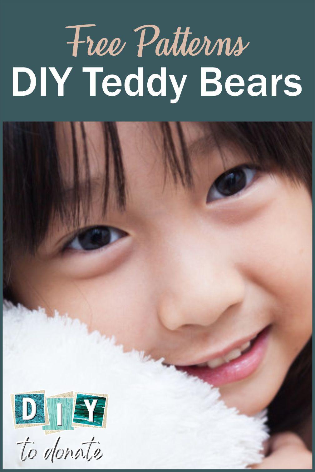 7 Easy DIY Teddy Bears  to Make and Donate