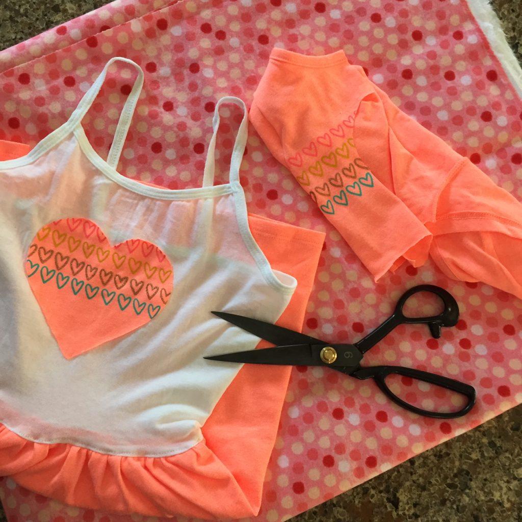 Make Tee Shirt Dress to Donate