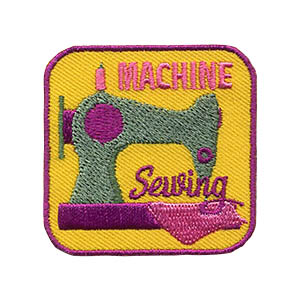 Machine Sewing Patch