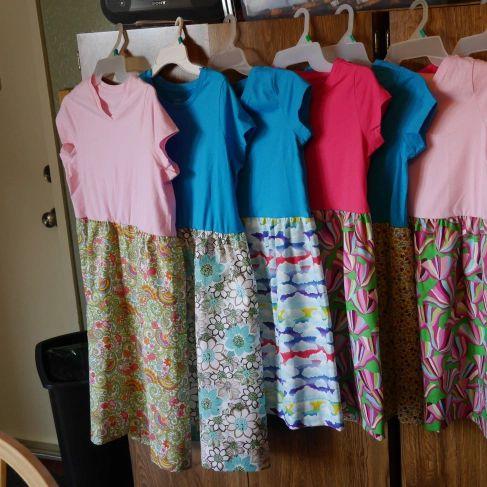 Tee Shirt Little Dress for Africa