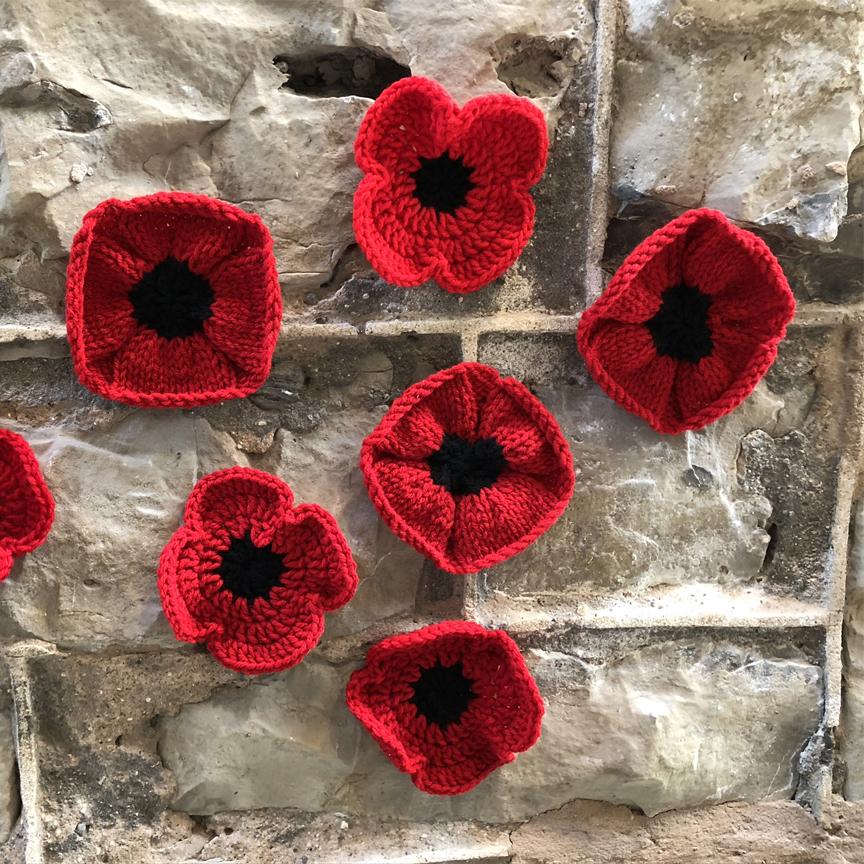 Poppy craft for Veterans