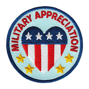 Military Appreciation Patch