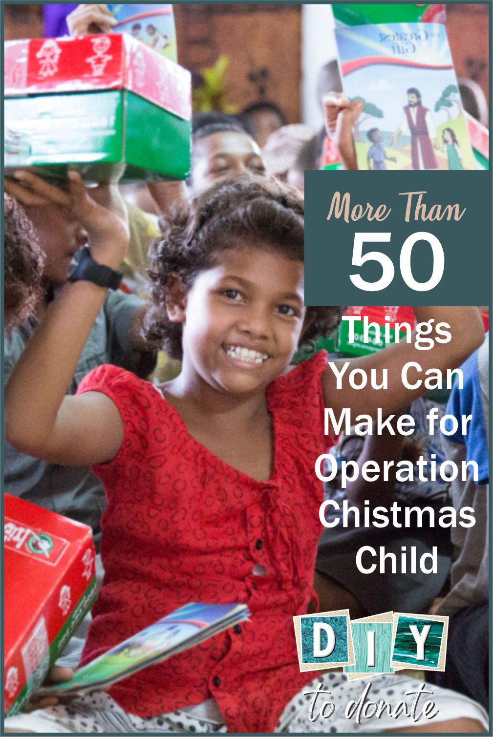 For a special touch include something handmade with your shoebox donation for Operation Christmas Child. We have instructions for more than 50 items!! #diy #diytodonate #diycrafts #diycraftstodonate #handmade #operationchristmaschild #christmasshoeboxes
