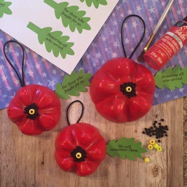 Poppy Door Hangers for Veterans