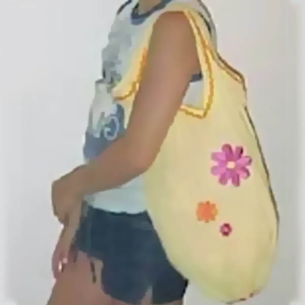 Free Kids Crafts Recycled Tank Top Beach Bag